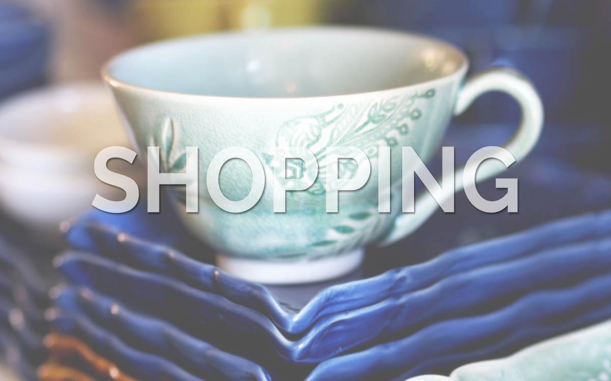 Upplevelser Shopping