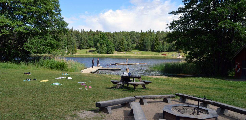 Eda badplats, Norrsjön Knivsta