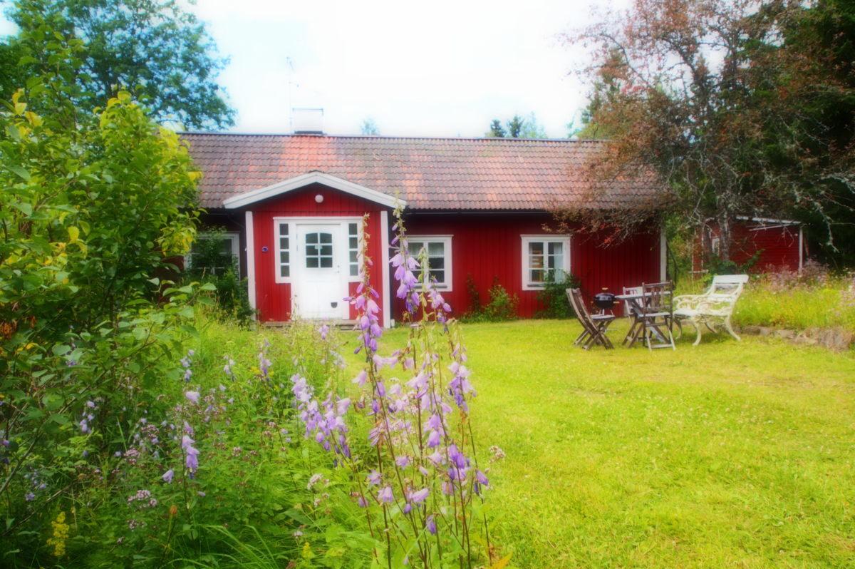 Att hyra Bagarstugan, pittoresk lantlig stuga