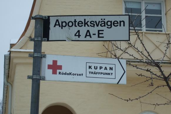 mötesplatsen kupan röda korset skara Gustavsberg och Hemmesta