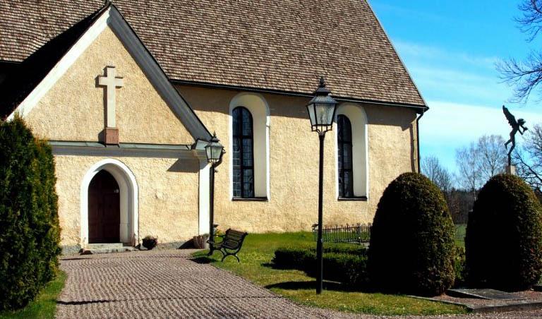 Lagga kyrka Carl Milles ©Millesgården