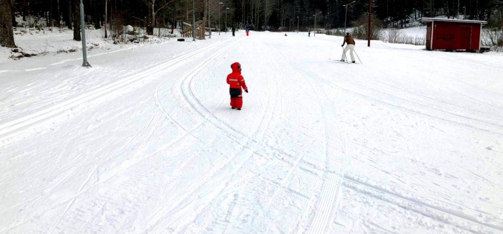 Vinter Knivsta skidor