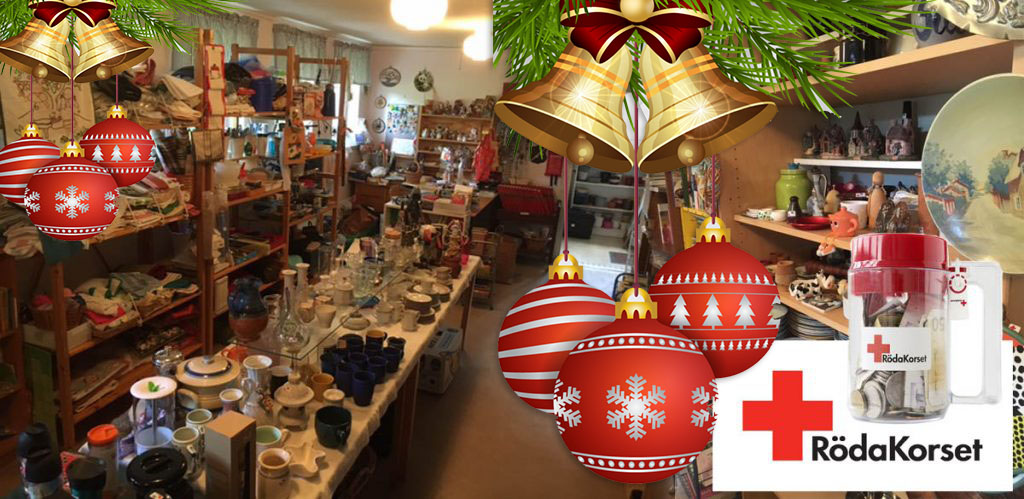 Jul på Kupan – second hand kan du fynda julklappar till hela släkten!
