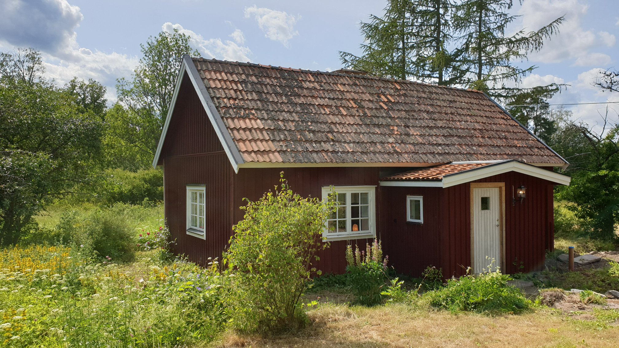 Hyra stugan Korpenhof på Ekhamn i Knivsta