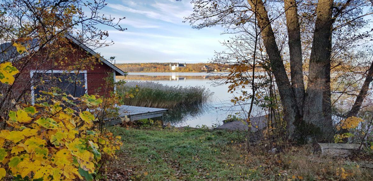 Ragnhildsviks båthus, Ekhamn i Knivsta