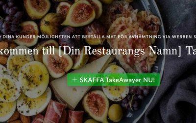 Takeawayer.se – anslut din restaurang eller mataffär för online!