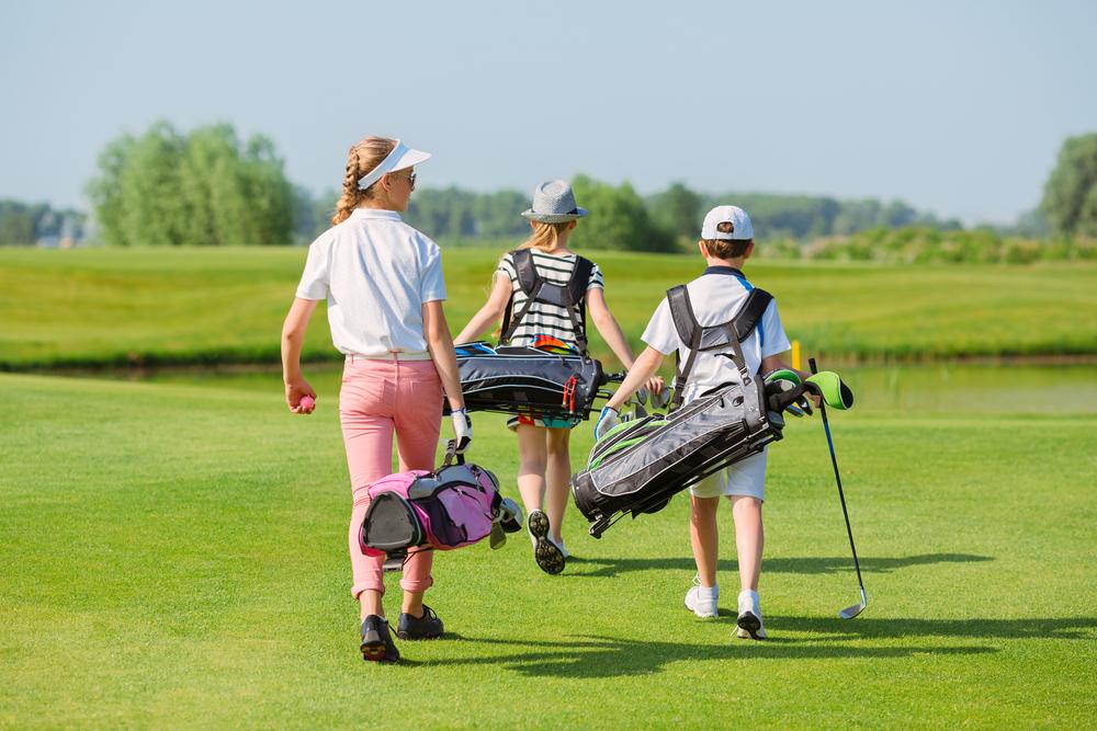 Spela golf i Knivsta, barn och ungdom. Sommarläger